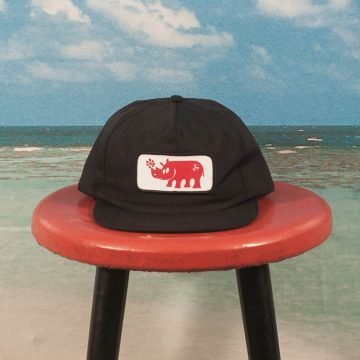 Call Me (917) - Rhino Hat - Black