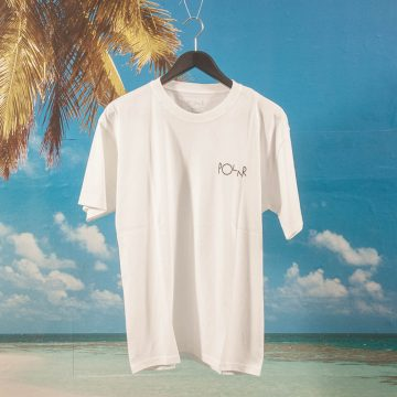 Polar Skate Co. - Script Logo T-Shirt - White