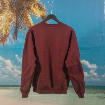 Canal New York - Classic Logo Crewneck - Maroon