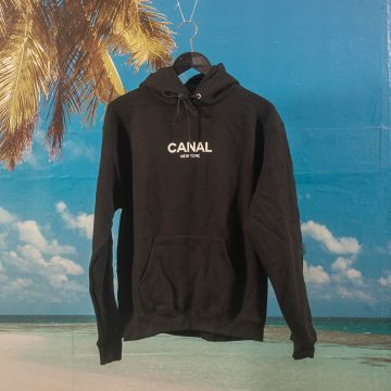 Canal New York - Classic Logo Hoodie - Black