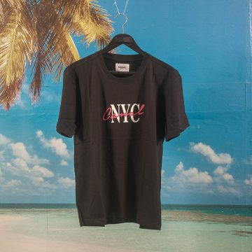 Canal New York - Lipstick T-Shirt - Black