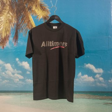 Alltimers - Estate Glitter Ink T-Shirt - Black