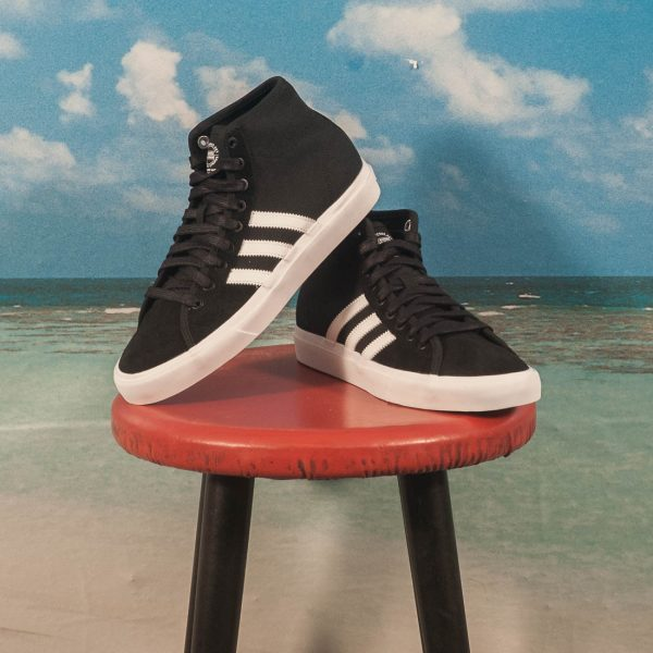 Adidas Skateboarding - Matchcourt High RX - Black / White