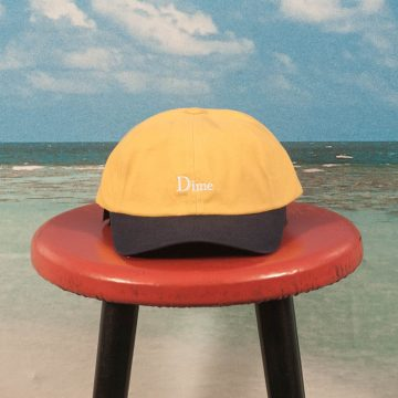 Dime MTL - Two-Tone Classic Cap - Yellow / Navy