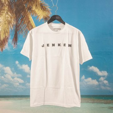 Jenkem Mag - Spaced Out T-Shirt - White
