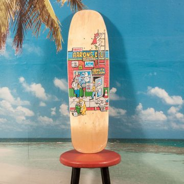 "Polar Skate Co. - Aaron´s Deli ""1992 Shape "" Deck - 9.25"