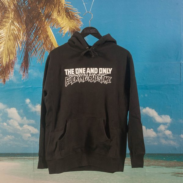 Fucking Awesome - One And Only Hoodie - Black