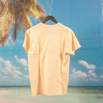 "SHRN - ""Oranges"" T-Shirt - Daniel Dueckminor - Yellow Haze"