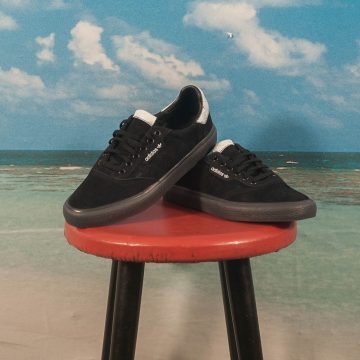 adidas Skateboarding - 3MC - Black / White / Solid Grey