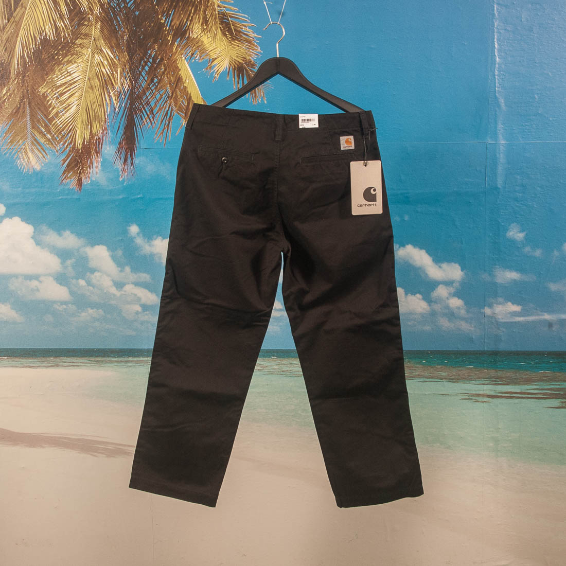 Carhartt WIP - Dallas Pant - Black Stone Washed