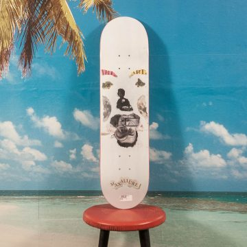 Maxallure Skateboards - Faces Deck - 8.0