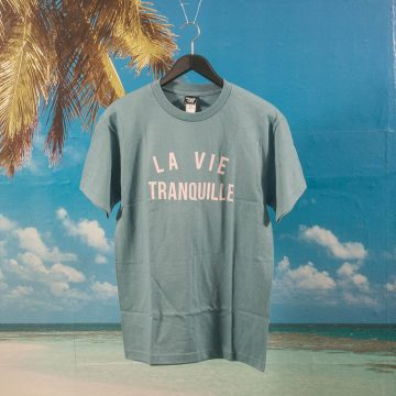 The Quiet Life - La Vie T-Shirt - Slate
