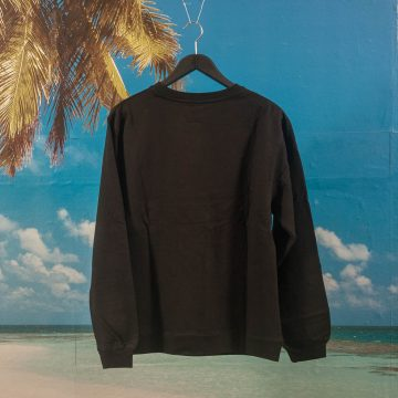 The Quiet Life - Heavy Slime Crewneck - Black