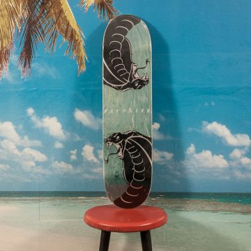 Favorite Skateboards - Snake Deck - 8.0