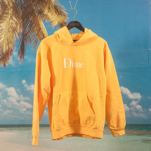 Dime MTL - Classic Logo Hoodie - Gold