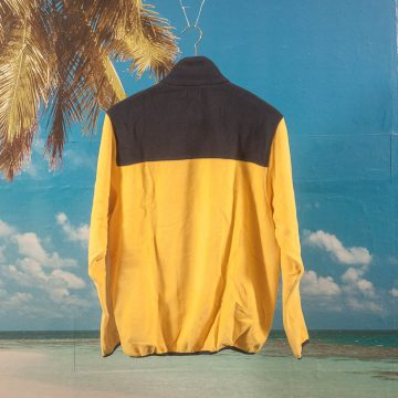Dime MTL - Fleece Jacket - Yellow