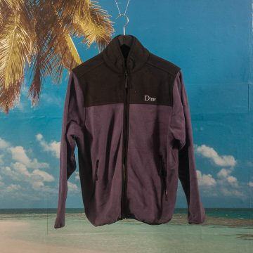 Dime MTL - Fleece Jacket - Purple