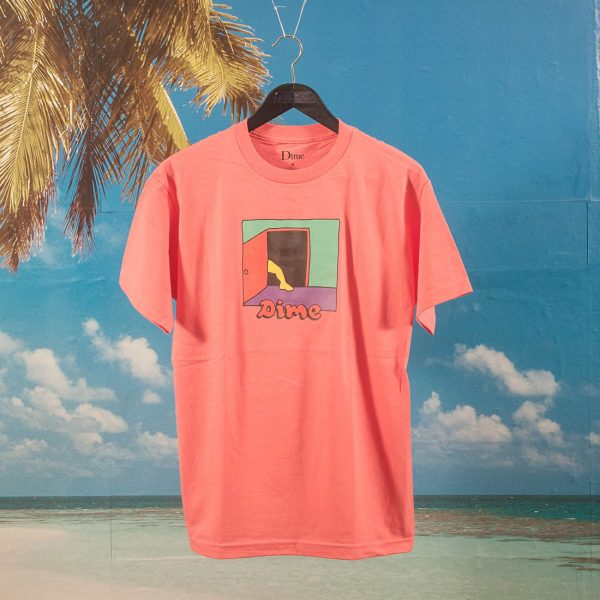 Dime MTL - Entrance T-Shirt - Coral