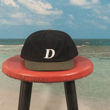 Dime MTL - Snapback Hat - Black & Green