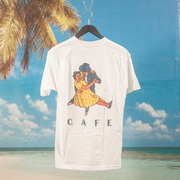 Skateboard Cafe - Dancers T-Shirt - White