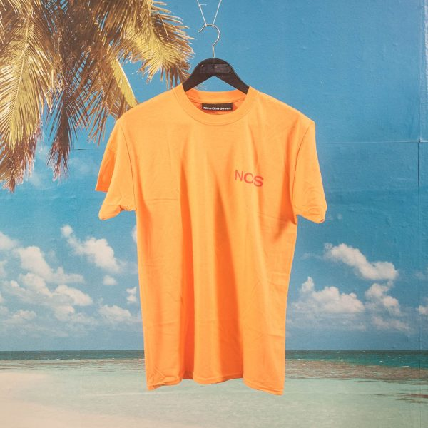 Call Me (917) - Surf Legs T-Shirt - Orange