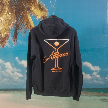 Alltimers - Puff Classic Logo Hoodie - Navy
