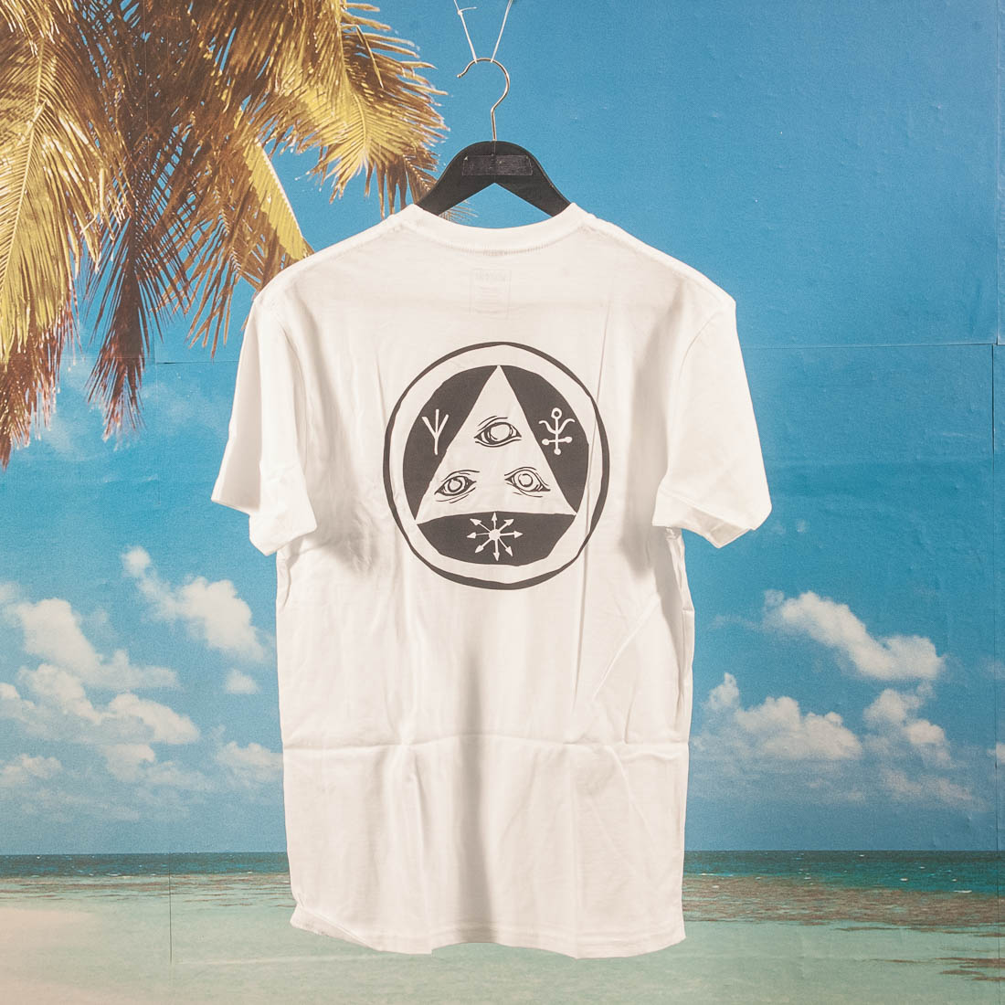 Welcome Skateboards - Talisman T-Shirt - White