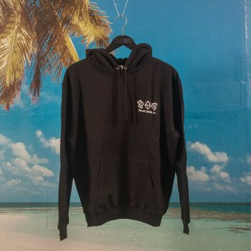 Polar Skate Co. - Two Sided Hoodie - Black