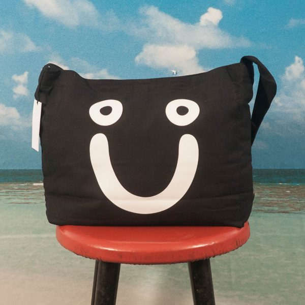 Polar Skate Co. - Happy Sad Tote Bag - Black