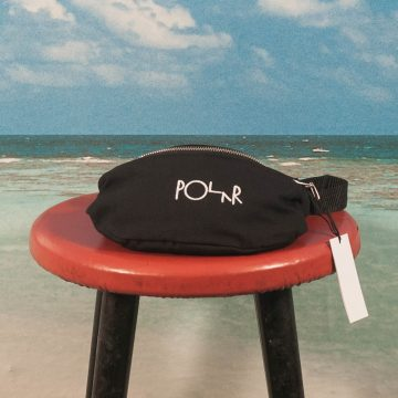 Polar Skate Co. - Script Logo Hip Bag - Black