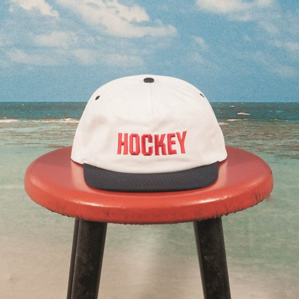 Hockey - League Hat - White / Navy