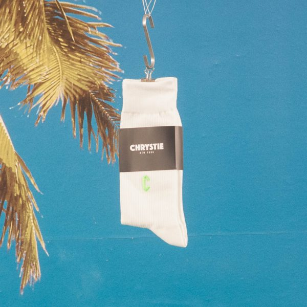 Chrystie NYC - Casual Socks - White