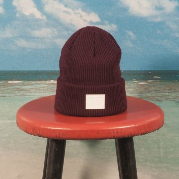 Post Details - Classic Beanie - Burgundy