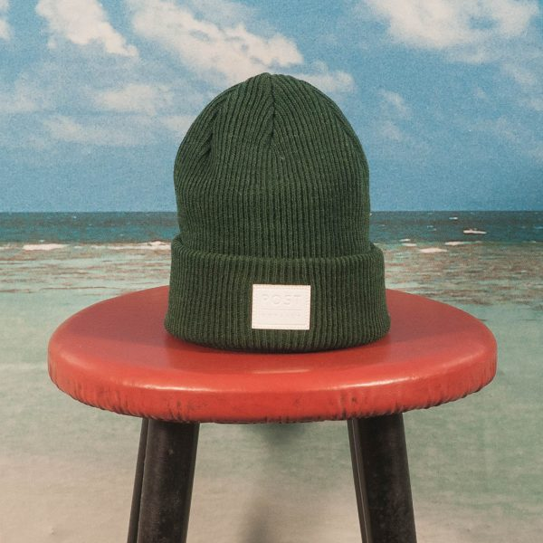 Post Details - Classic Beanie - Green