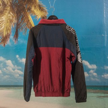 adidas Skateboarding - Protect Ya Neck Jacket - Black / Navy / Burgundy