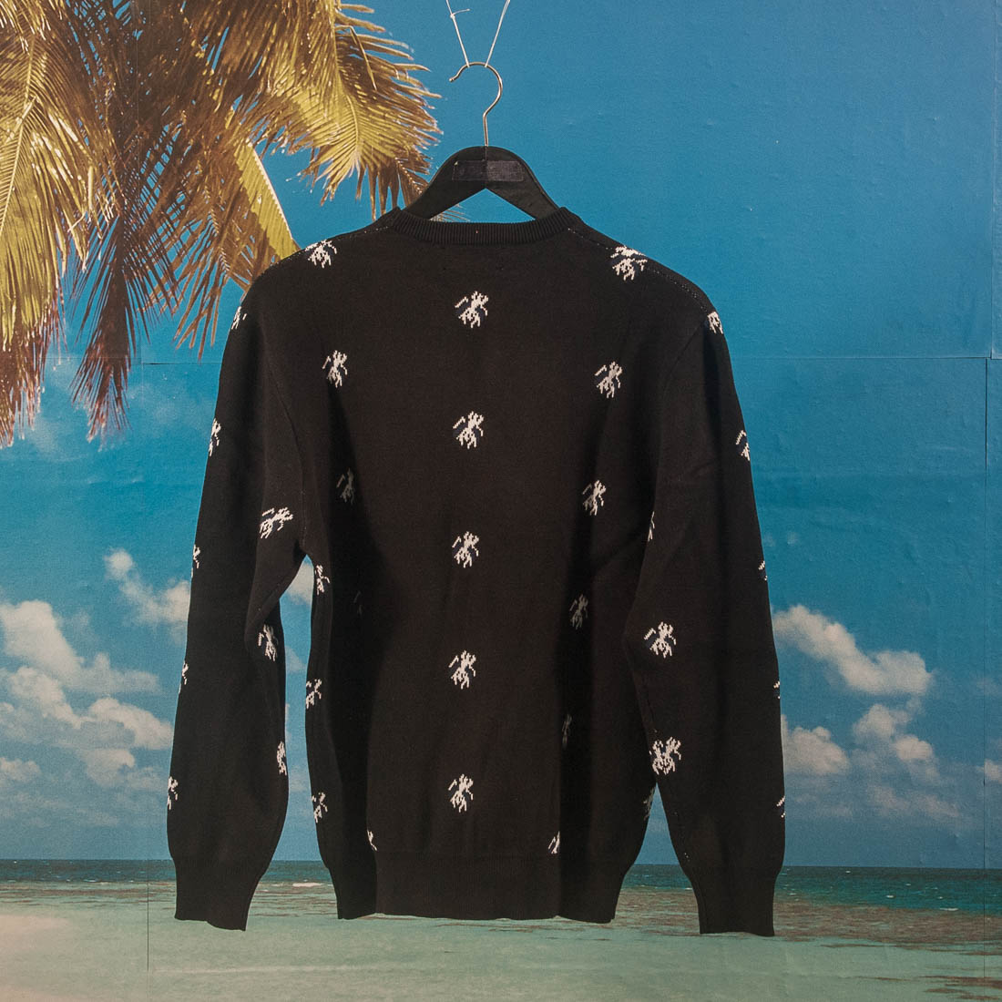 Fucking Awesome - Flies Knitted Sweater - Black