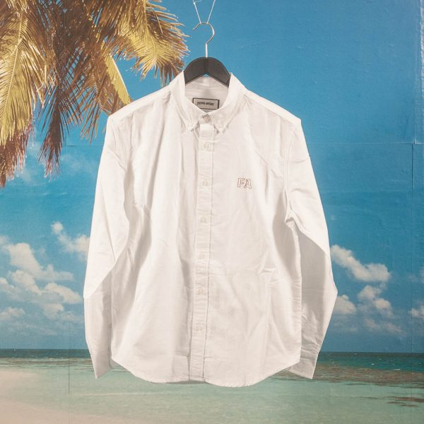 Fucking Awesome - Monogram Oxford Shirt - White