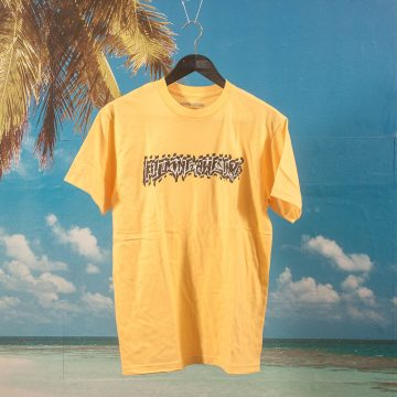 Fucking Awesome - Shockwave T-Shirt - Yellow