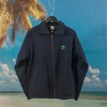 adidas Skateboarding X Alltimers - Alltimers Jacket - Navy / Green