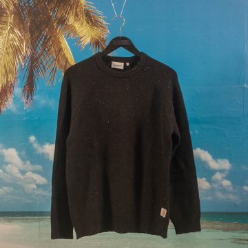 Carhartt WIP - Anglistic Sweater - Black Heather