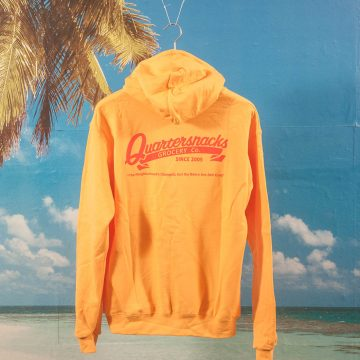 Quartersnacks - Grocery Hoodie - Yellow