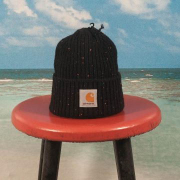 Carhartt WIP - Anglistic Beanie - Black Heather