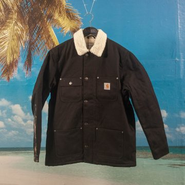 Carhartt WIP - Fairmount Coat - Black Rigid