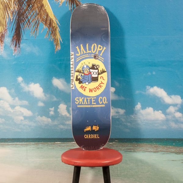 Antihero Skateboards - Cardiel Jalopi Skate Co. #2 Deck - 8.75