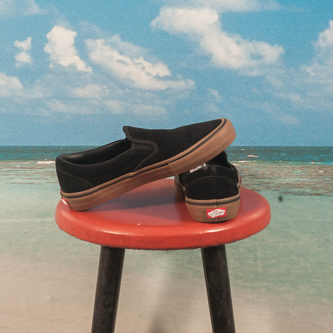 Vans - Slip On Pro (Rubber) - Black / Gum
