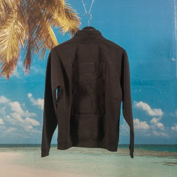 Poetic Collective - Half Zip - Black / Black