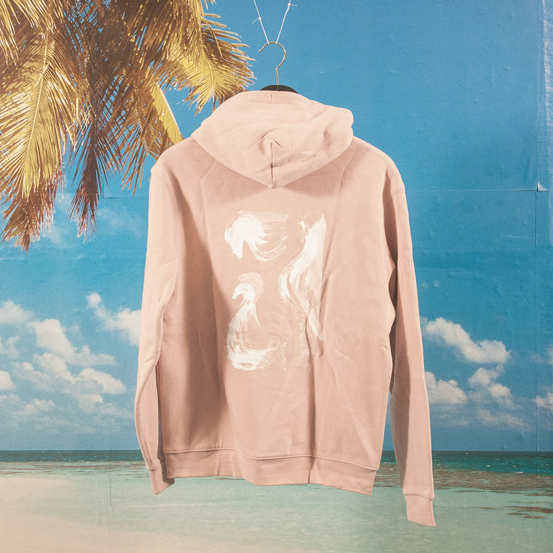 Poetic Collective - Paraphrase Hoodie - Washed Out Pink