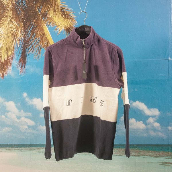Dime MTL - 3 Tone Fleece Pullover - Purple