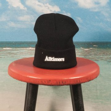 Alltimers - Broadway Rubber Beanie - Black