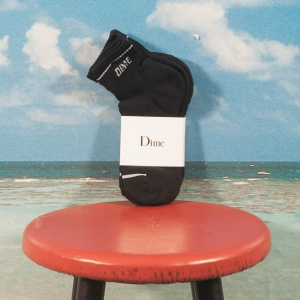 Dime MTL - Socks 2er Pack - Black / White